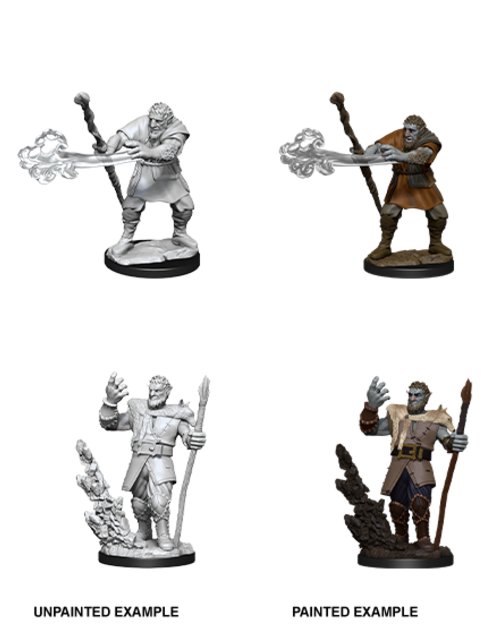 Wizkids D&D Nolzur's Marvelous Miniatures Firbolg Druid