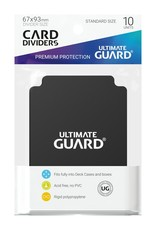 Ultimate Guard Card Dividers Standard Black (10)