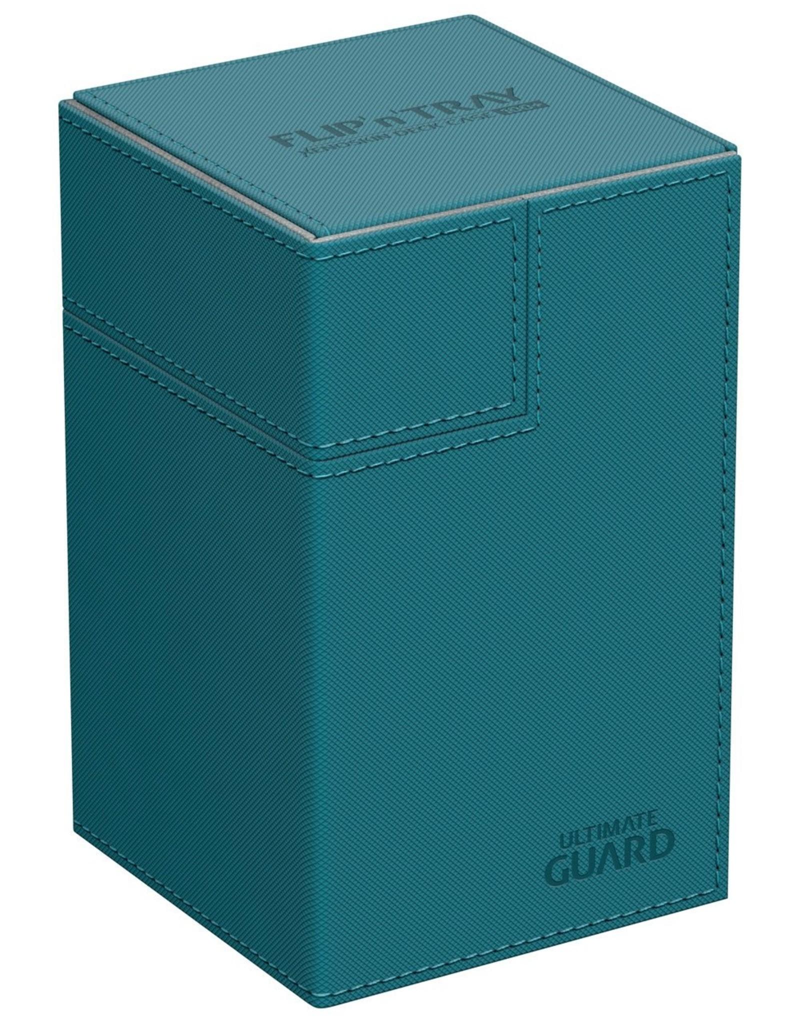 Ultimate Guard Flip´n´Tray Deck Case 100+ Standard Size Petrol