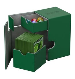Ultimate Guard Flip´n´Tray Deck Case 100+ Standard Size Green
