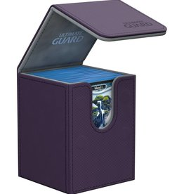 Ultimate Guard Flip Deck Case 100+ Standard Size XenoSkin Purple