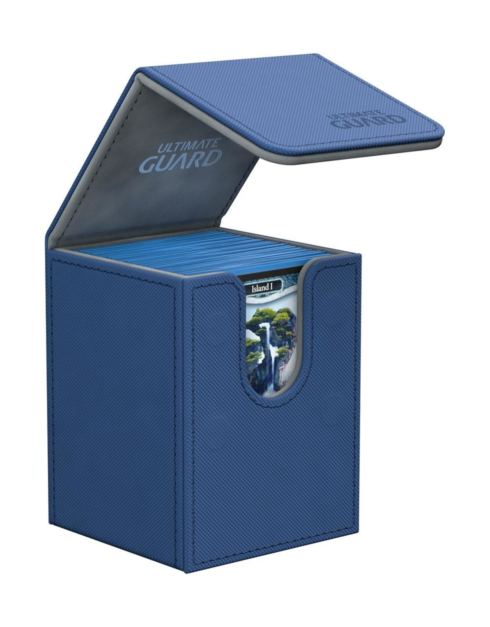 Ultimate Guard Flip Deck Case 100+ Standard Size XenoSkin Blue