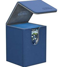 Ultimate Guard Flip Deck Case 100+ Standard Size XenoSkin Blue