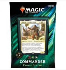 Wizards of the Coast MtG Commander 2019 deck Primal Genesis