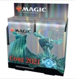 Wizards of the Coast MtG Core Set 2021 Collector Booster Display (12 Packs)