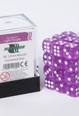 ADC Blackfire Dice cube 12mm - Transparent Light Purple (36