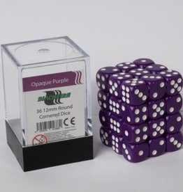 ADC Blackfire Dice cube 12mm - Opaque Purple (36)