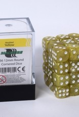 ADC Blackfire Dice cube 12mm - Marbled Yellow (36)