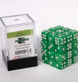 ADC Blackfire Dice cube 12mm - Marbled Light Green (36)