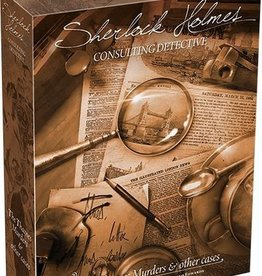 Space Cowboys Sherlock Holmes Consulting Detective: The Thames Murders and Other Cases  (EN)