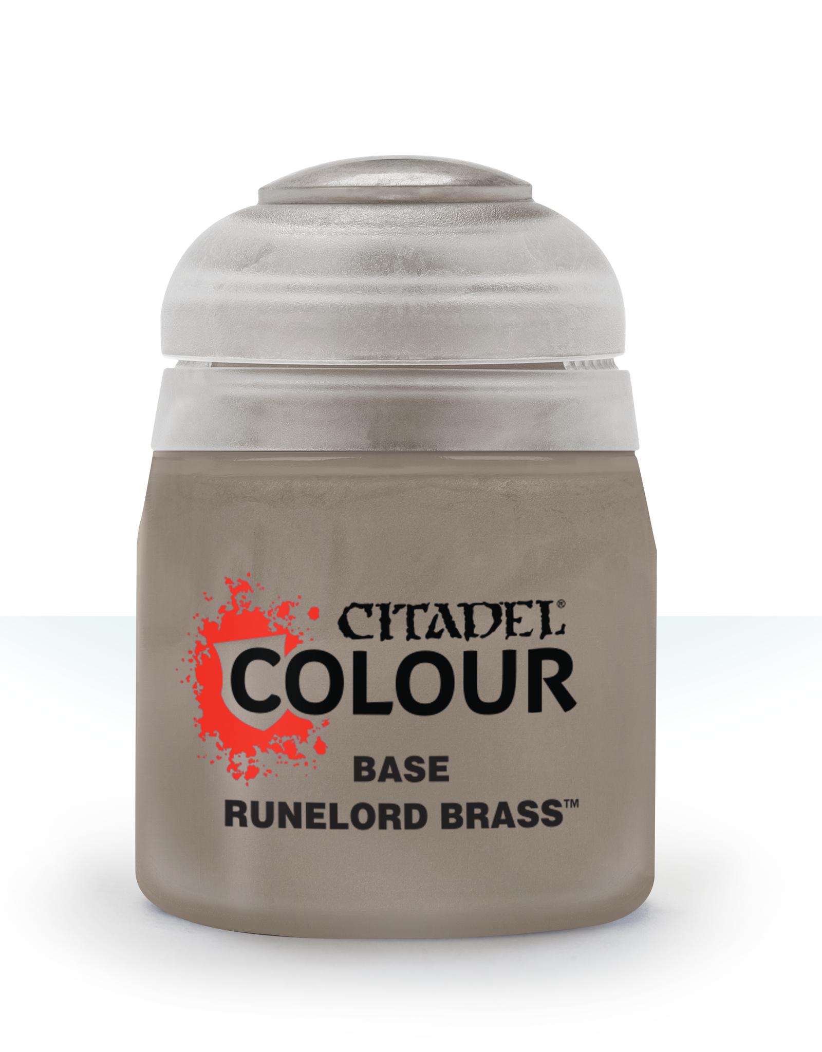 Games Workshop Citadel Base: Runelord Brass