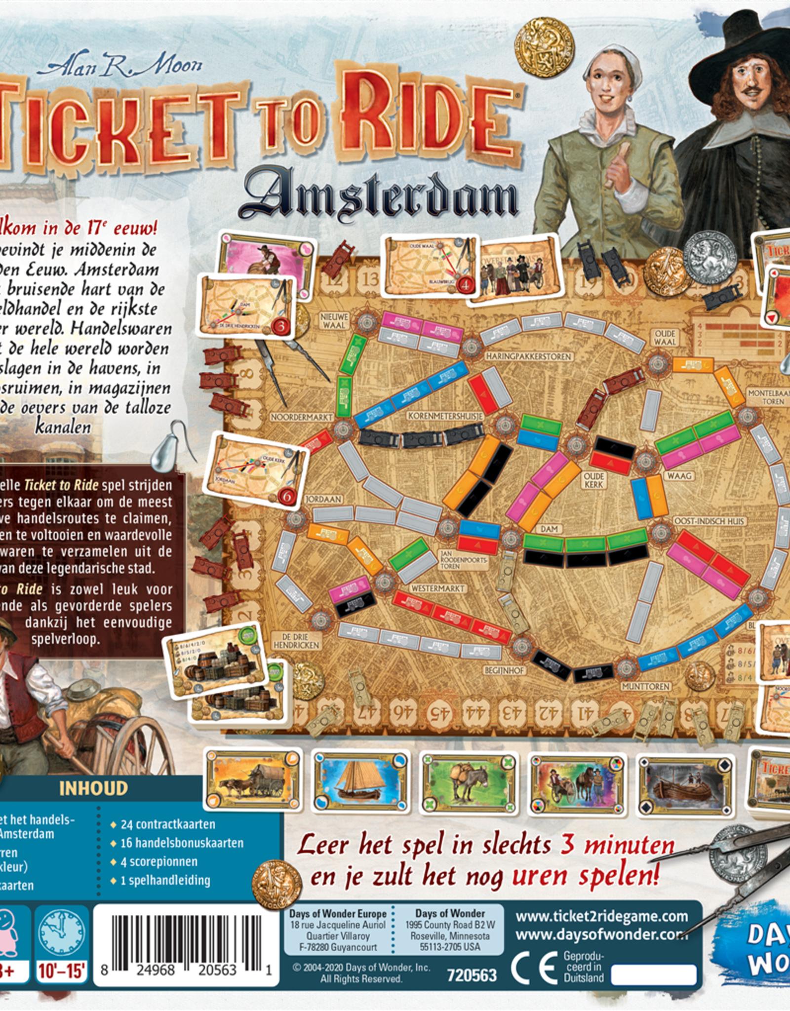 Days of Wonder Ticket to Ride: Amsterdam (NL)