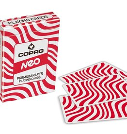 Copaq Neo Premium Playing Cards Red and White