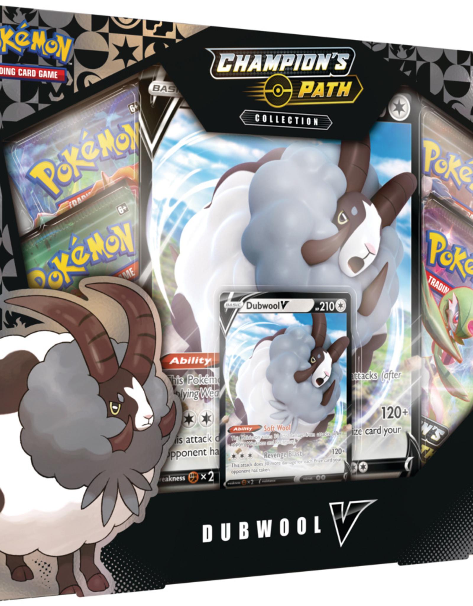 Pokemon USA POK Dubwool V-BOX Pre-order