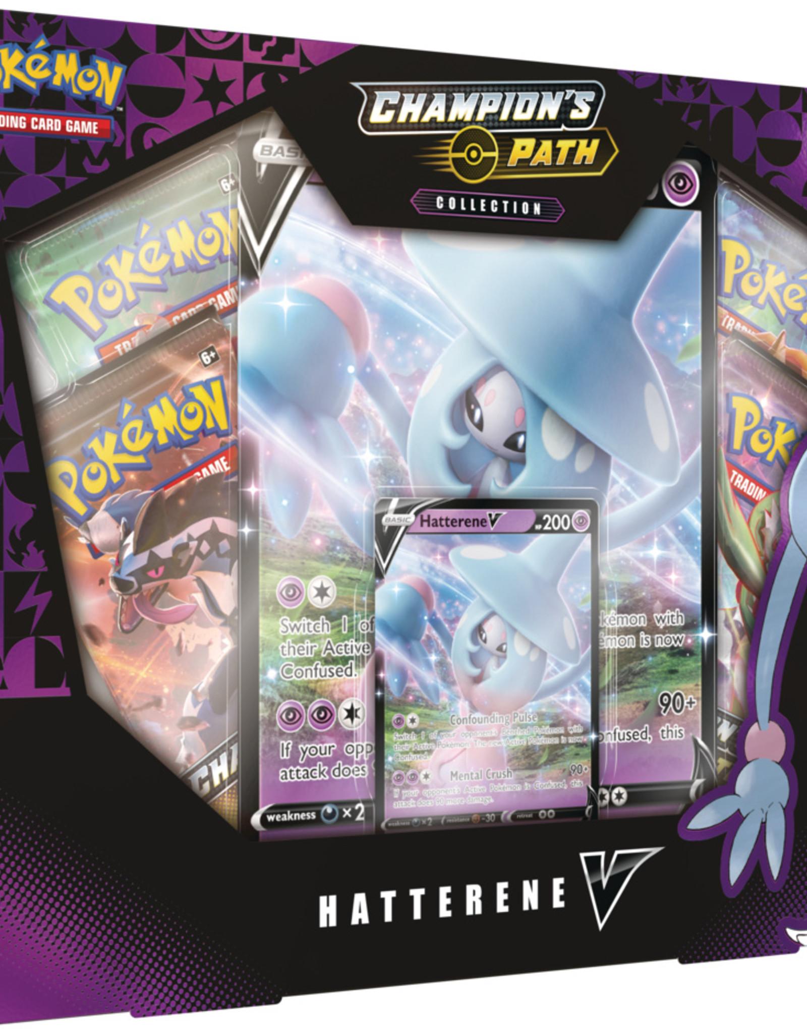 Pokemon USA POK Hatterene V-Box Pre-order