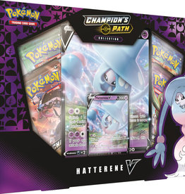 Pokemon USA POK S&S Champions Path: Hatterene V-Box Pre-order