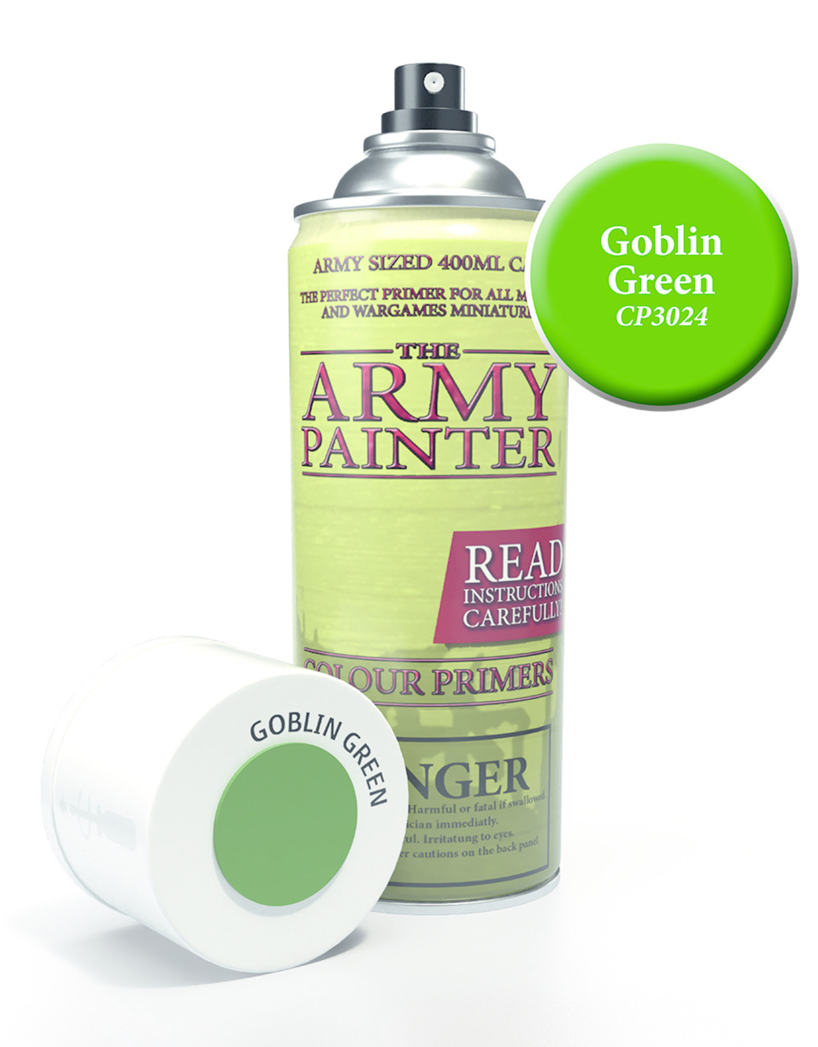 The Army Painter Colour Prime Goblin Green (400ml)