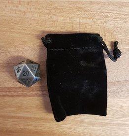 ADC Blackfire Metal D20 Spindown with Velvet Bag Antique Silver
