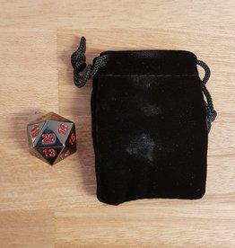 ADC Blackfire Metal D20 Spindown with Velvet Bag Black