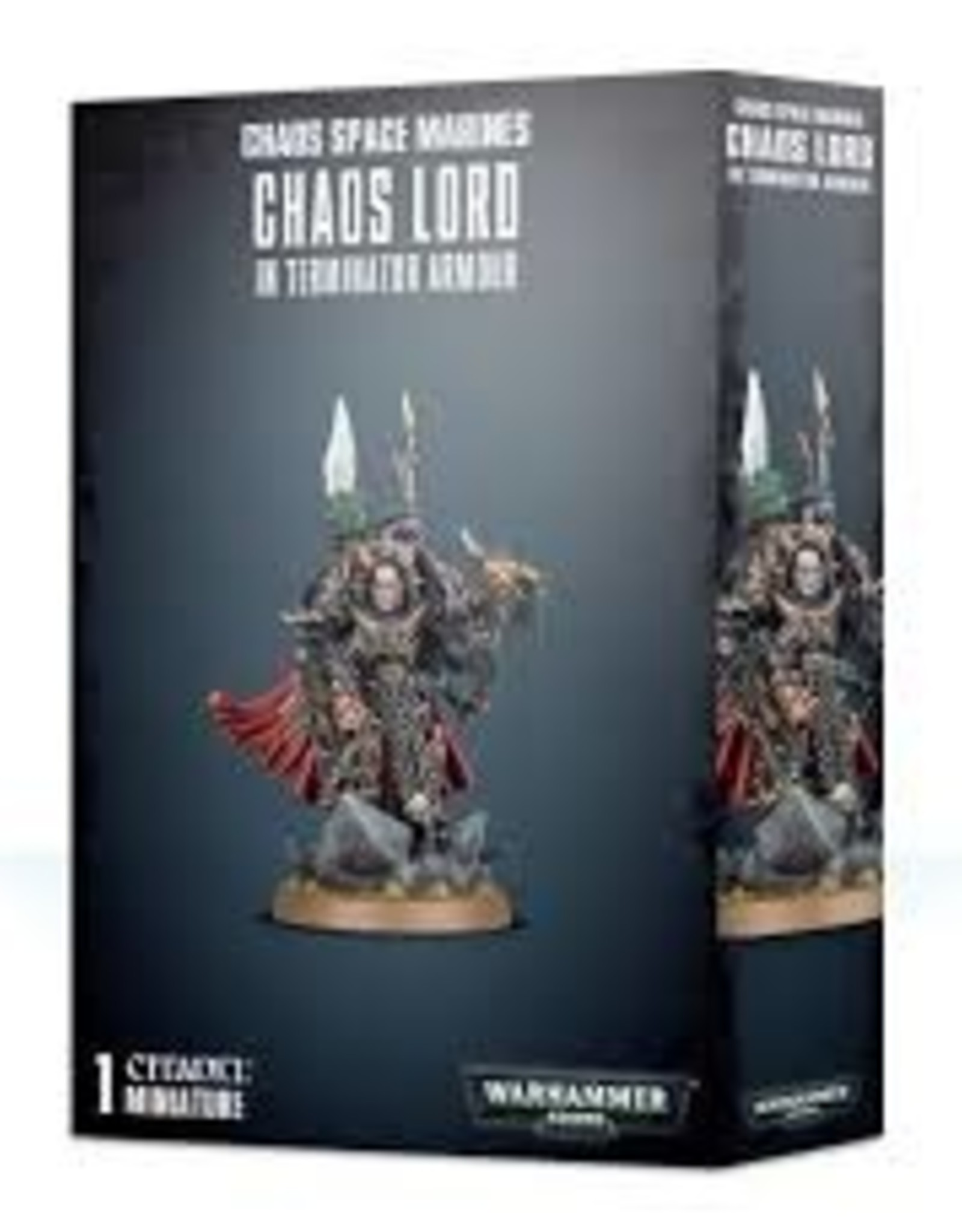 Games Workshop Chaos Space Marines Chaos Lord in Terminator Armour