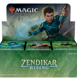 Wizards of the Coast MtG Zendikar Rising Draft Booster Box