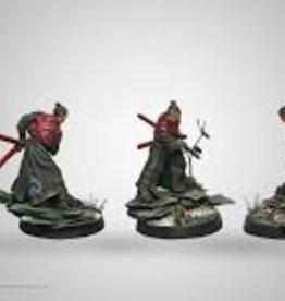 Corvus Belli Mercenaries Miyamoto Mushashi (Chain Rifle, AP CCW, EXP CCW)