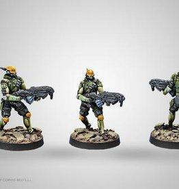 Corvus Belli Mercenaries Druze Shock Troops (Spitfire)