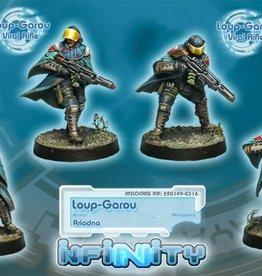 Corvus Belli Loup-Garou. (Box with 4 male figures)