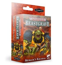 Games Workshop Warhammer Underworlds Beastgrave: Morgok's Krushas