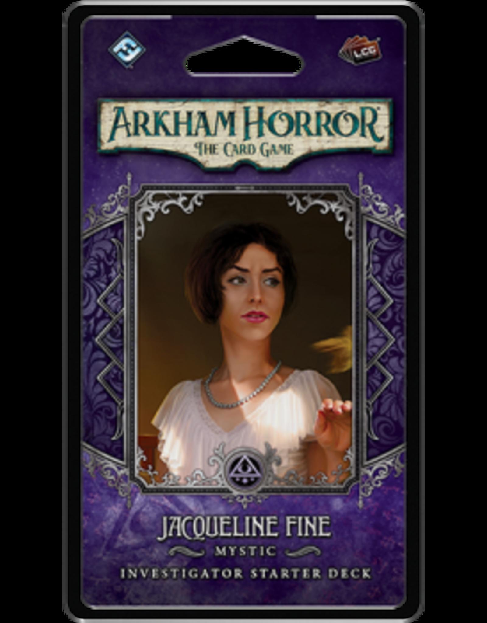 Fantasy Flight Games Arkham Horror LCG: Jacqueline Fine Investigator Deck (EN)