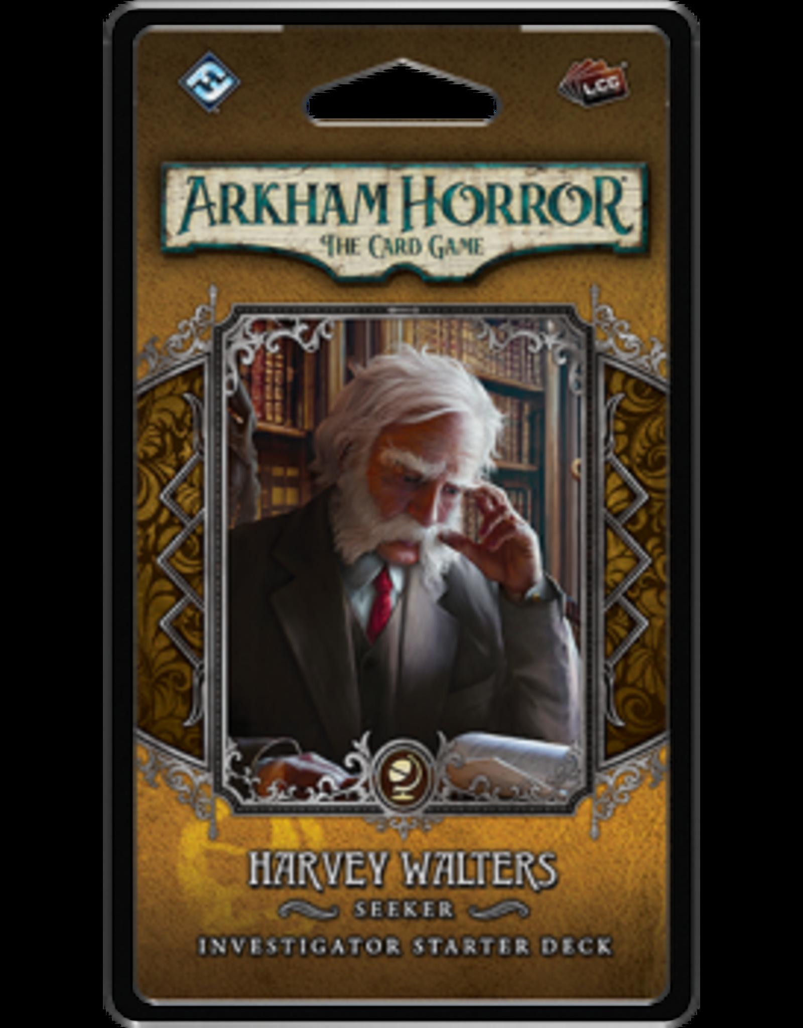 Fantasy Flight Games Arkham Horror LCG: Harvey Walters Investigator Deck (EN)