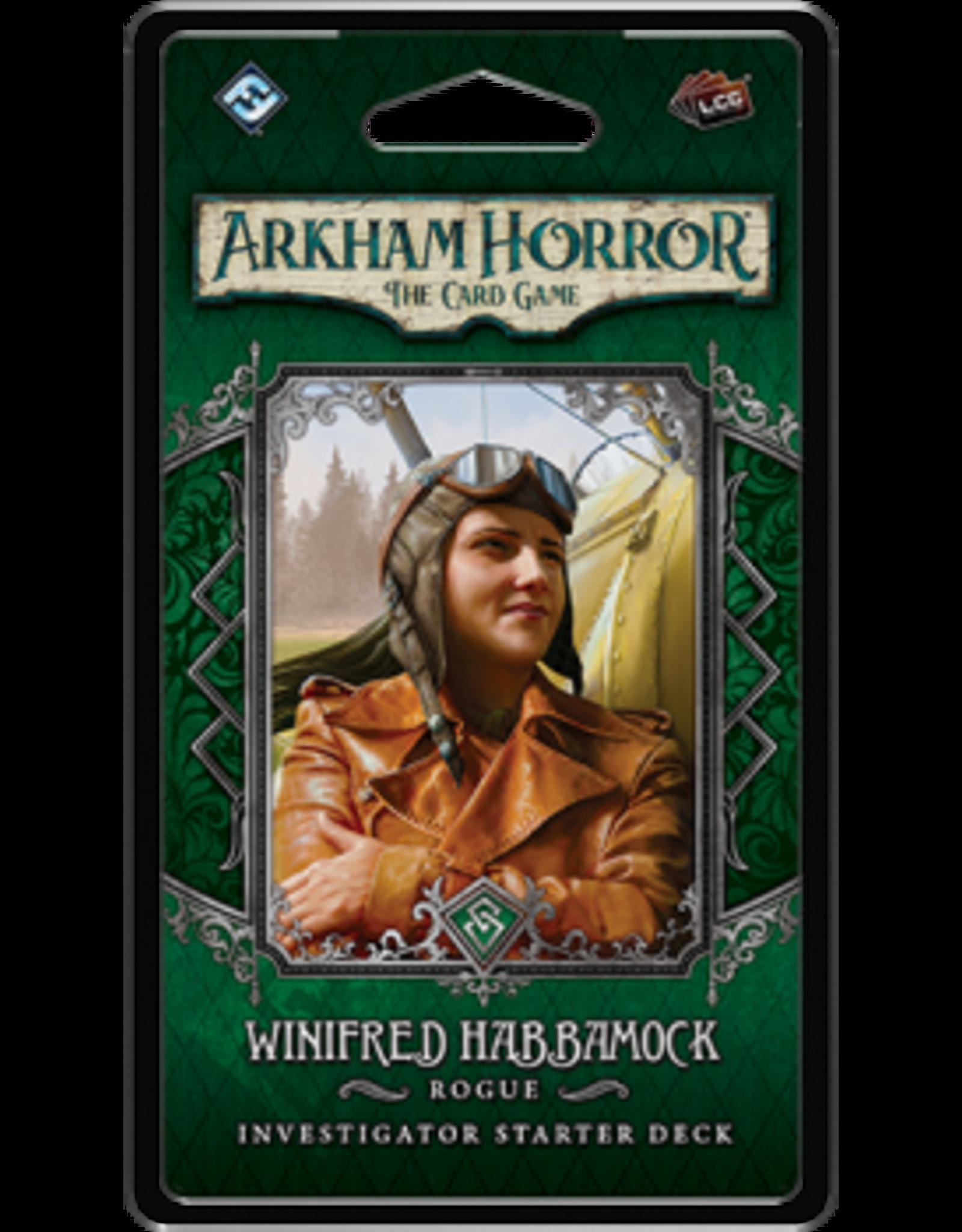 Fantasy Flight Games Arkham Horror LCG: Winnifred Habbamock Investigator Deck (EN)
