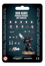 Games Workshop Space Marines Iron Hands Primaris Upgrades & Transfers