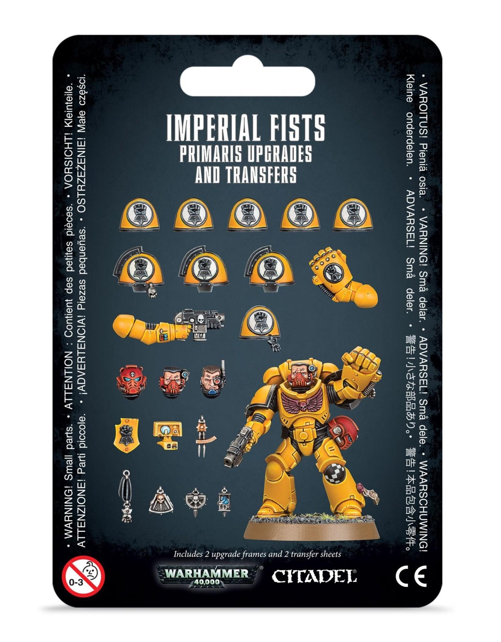 Games Workshop Space Marines Imperial Fists Primaris Upgrades & Transfers
