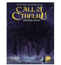 Chaosium Call of Cthulhu Keeper Rulebook