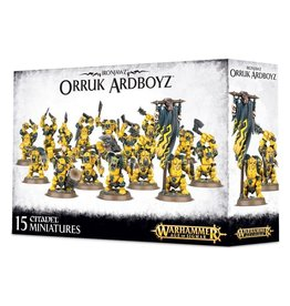 Games Workshop Ironjawz Orruk Ardboys