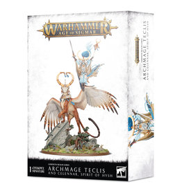 Games Workshop Lumineth Realm-Lords Archmage Teclis