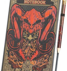 Paladone D&D Player's Notebook and Pencil