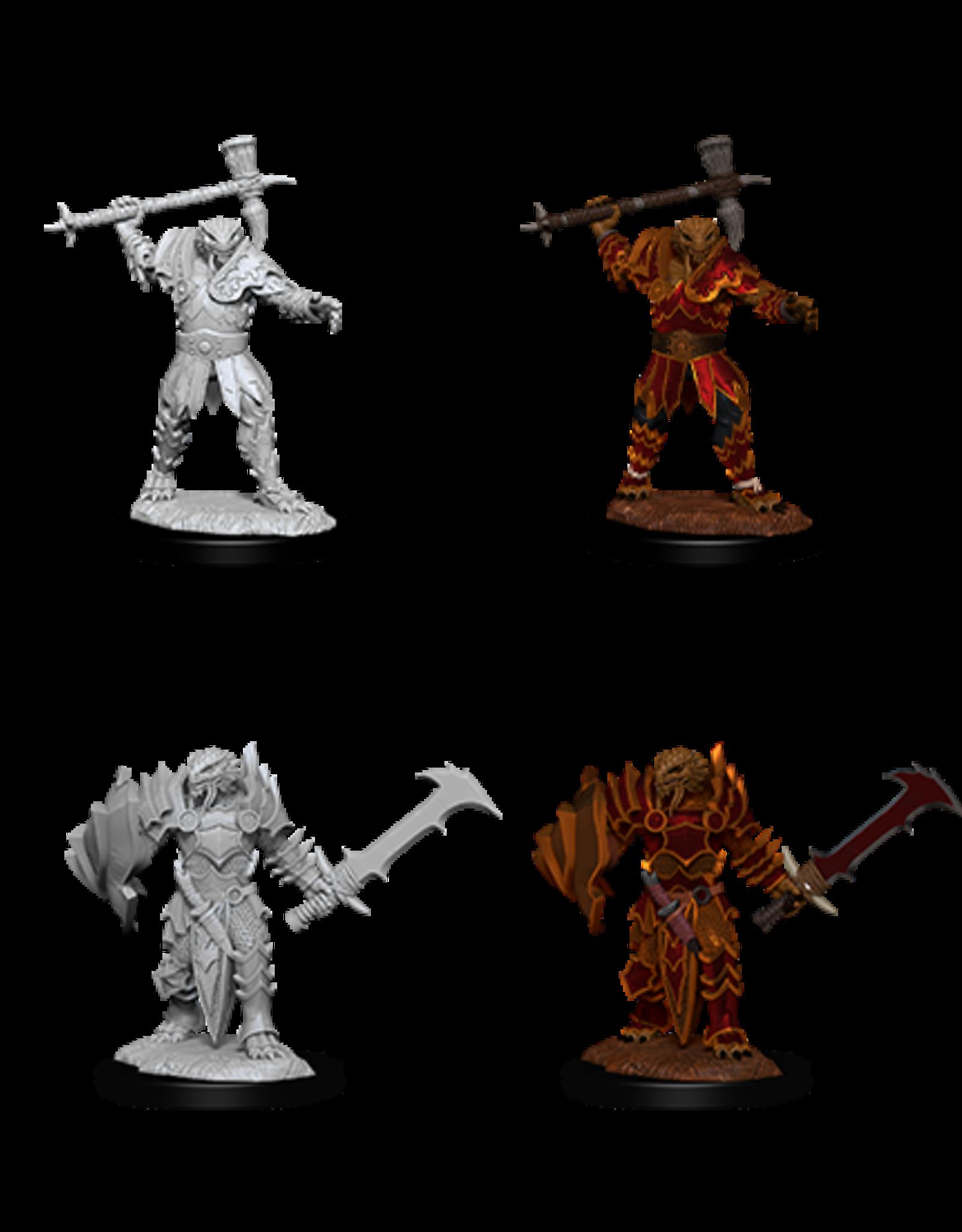 Wizkids D&D Nolzur's Marvelous Miniatures Dragonborn Paladin 3