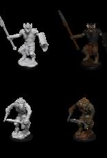 Wizkids D&D Nolzur's Marvelous Miniatures Gnoll and Gnoll Flesh Gnawer