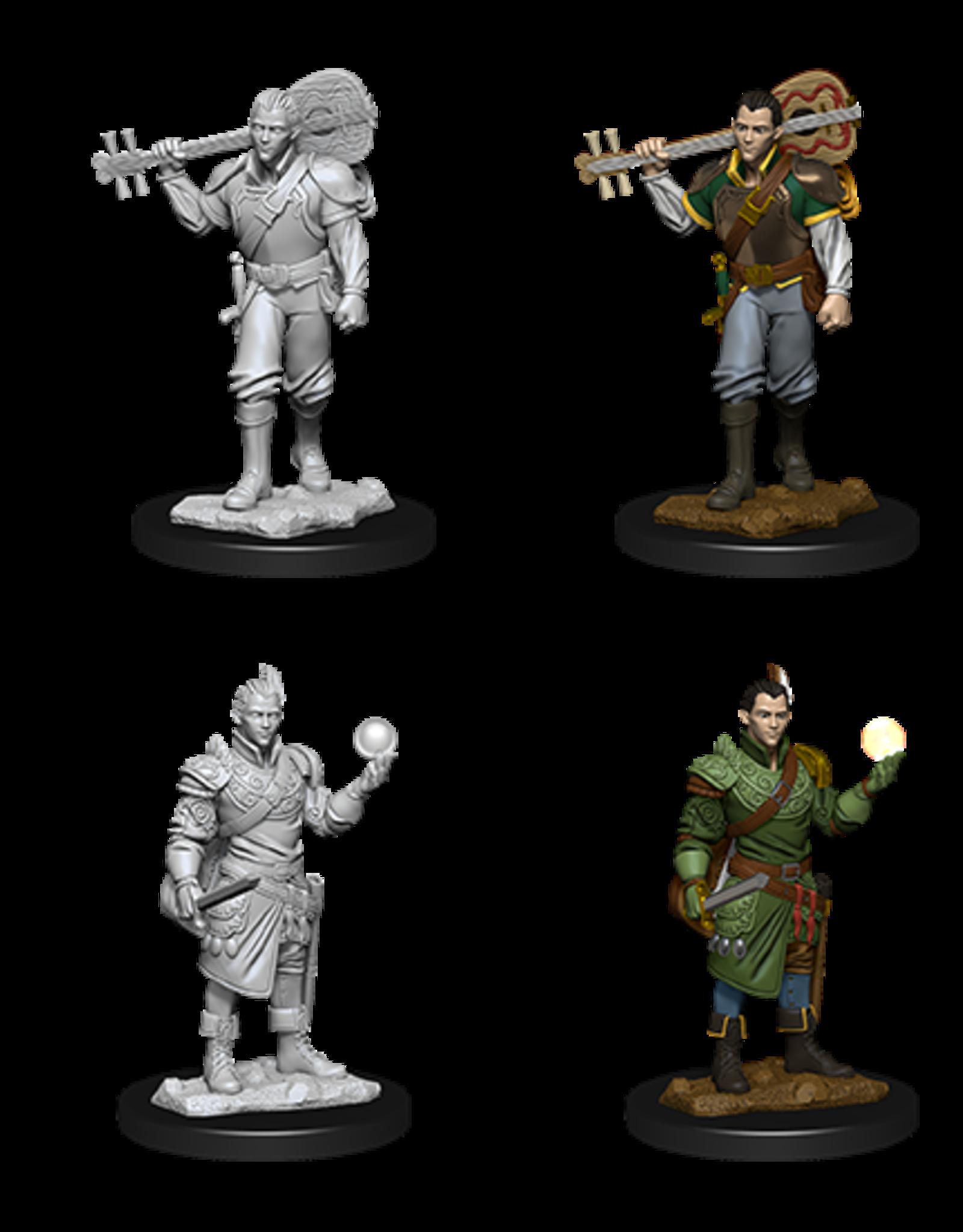 Wizkids D&D Nolzur's Marvelous Miniatures Half-Elf Bard Male