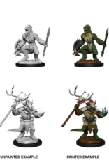 Wizkids D&D Nolzur's Marvelous Miniatures Lizardfolk and Lizardfolk Shama