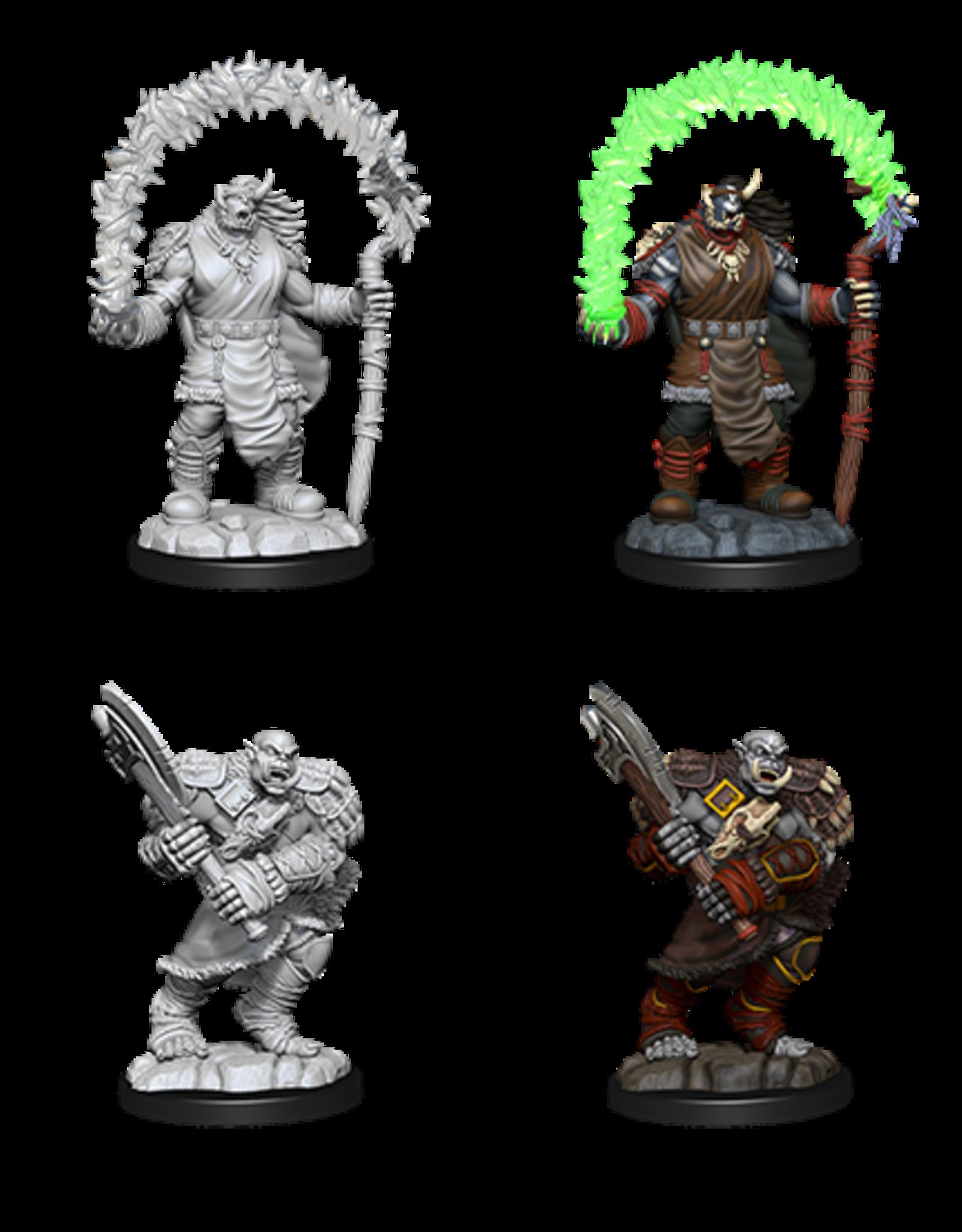 Wizkids D&D Nolzur's Marvelous Miniatures Orc Adventurers
