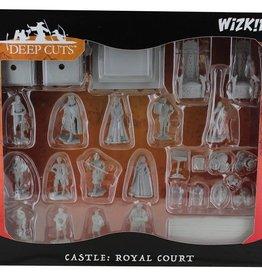Wizkids WizKids Deep Cuts Unpainted Miniatures Towns People: Castle I