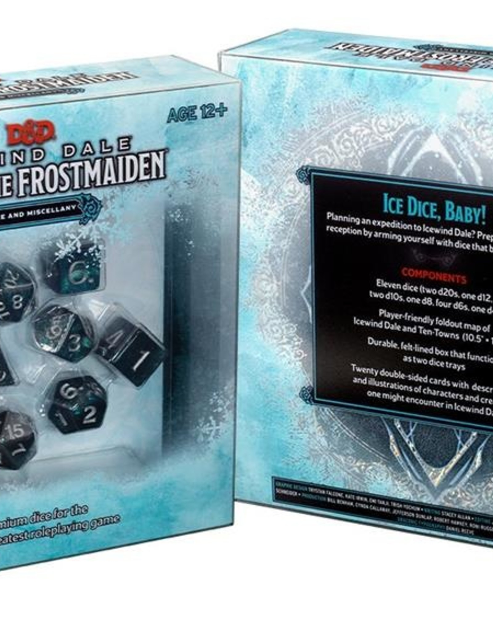 Wizards of the Coast D&D 5th Ed. Icewind Dale Rime of the Frostmaiden Dice Set