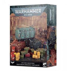 Games Workshop Battlezone Manufactorum: Munitorum Armoured Containers