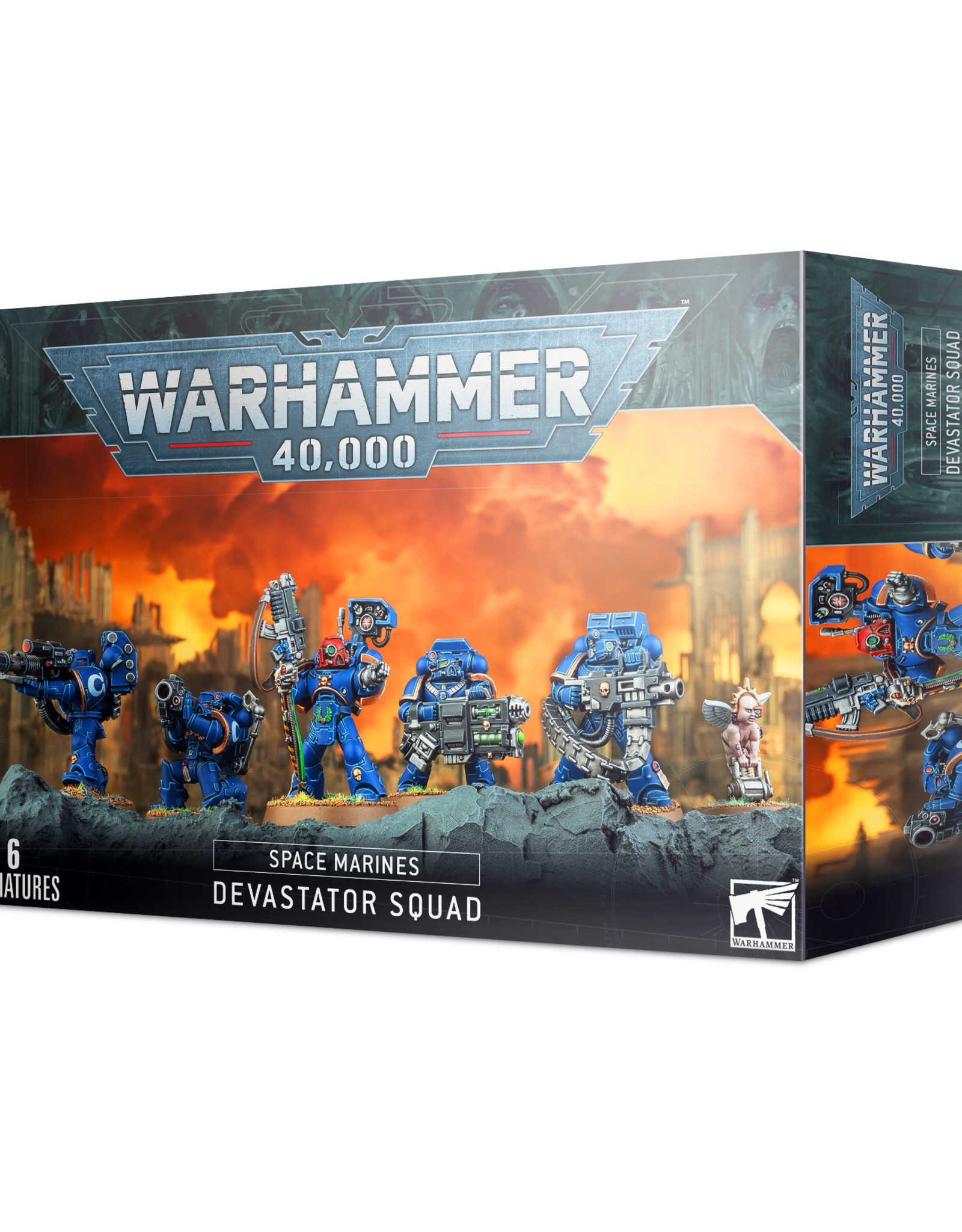 Games Workshop Space Marines Devastator Squad (New)