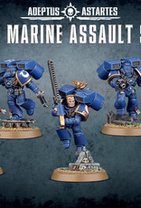 Games Workshop Space Marines Assault Squad (New)