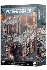 Games Workshop Battlezone Manufactorum: Sub-Cloister and Storage Fane