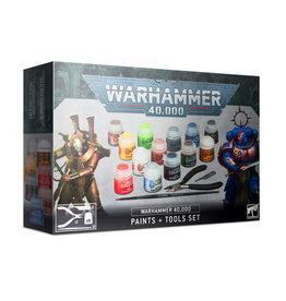 Games Workshop Warhammer 40.0000 Paints + Tools